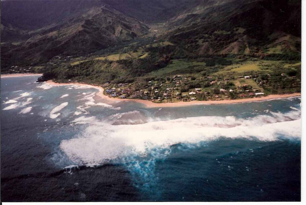 Aerial View of Kauai